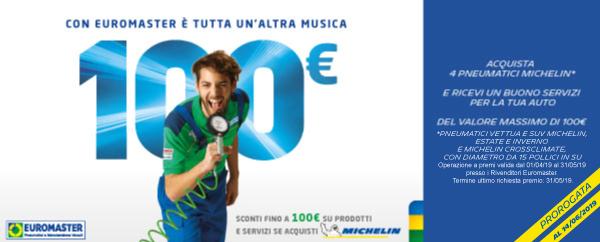 Promozioni pneumatici michelin 2018 for Buono per servizi turistici